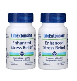 Life Extension Enhanced Stress Relief, 30 Vegetarian Capsules, 2-pack