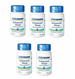 Life Extension Enhanced Sleep without Melatonin, 30 capsules, 5-pack