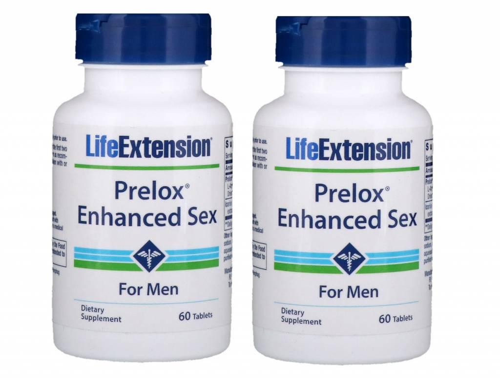 Life Extension Prelox Enhanced Sex For Men, 60 Tablets, 2-pack