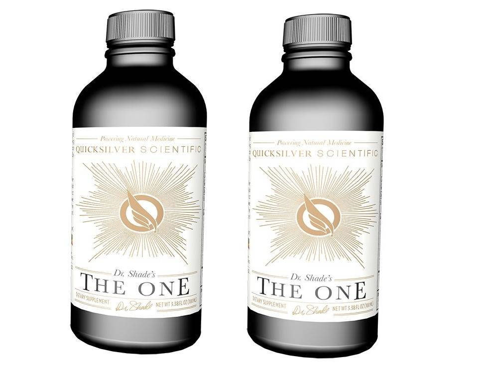 Quicksilver Scientific The One, 100 ml, 2-pack