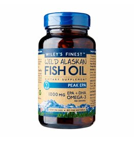 Wiley's Finest Wild Alaskan Fish Oil PEAK EPA, 60 Softgels