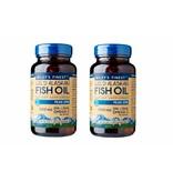Wiley's Finest Wild Alaskan Fish Oil PEAK EPA, 60 Softgels, 2-packs