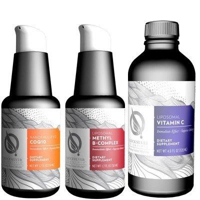 Quicksilver Scientific Essential Liposomal Nutrients Kit, 10-pack