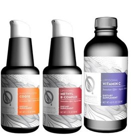 Quicksilver Scientific Essential Liposomal Nutrients Kit, 5-pack