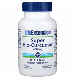 Life Extension Super Bio-Curcumin, 400 mg 60 vegetarian capsules