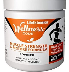Life Extension Wellness Code™ Muscle Strength And Restore Formula, 94.2 g.