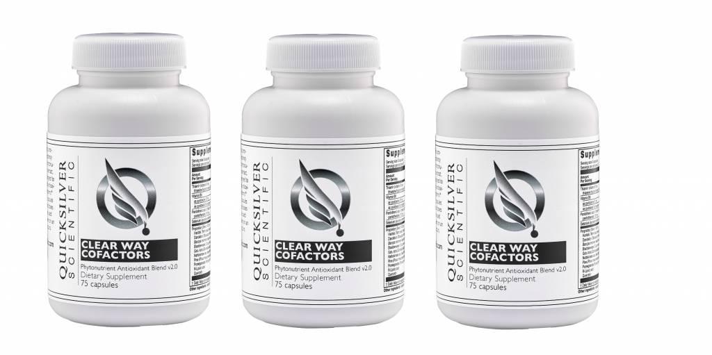 Quicksilver Scientific Clear Way Cofactors®, 120 Capsules, 3-packs