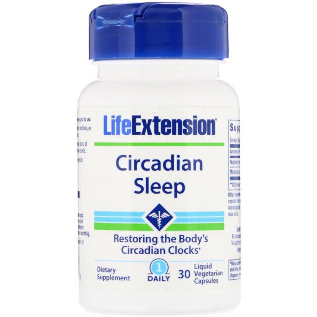 Life Extension Circadian Sleep, 30 Capsules