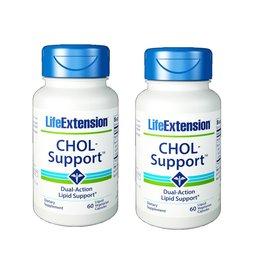 Life Extension CHOL-Support™, 60 Liquid Vegetarian Capsules, 2-packs