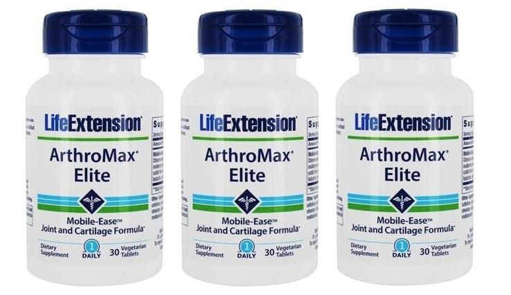 Life Extension Arthromax® Elite, 30 Vegetarian Capsules, 3-pack