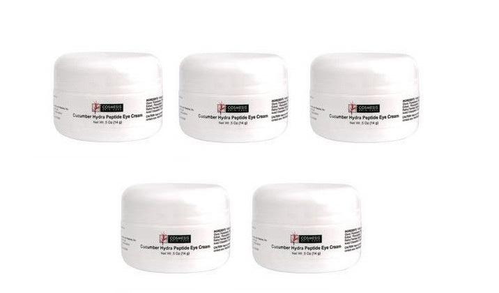 Life Extension Cucumber Hydra Peptide Eye Cream, 5 Oz., 5-pack