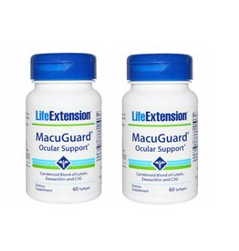 Life Extension Macuguard Ocular Support, 60 Softgels, 2-packs