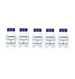 Life Extension Melatonin, 300 Mcg, 100 Vegetarian Capsules, 5-pack