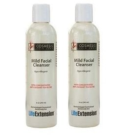 Life Extension Mild Facial Cleanser, 8 oz., 2-pack