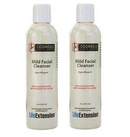 Life Extension Mild Facial Cleanser, 8 oz., 2-pack
