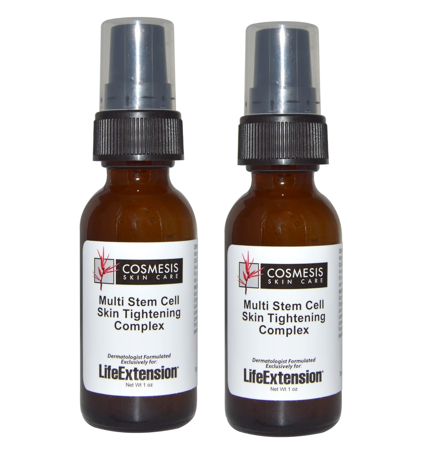 Life Extension Multi Stem Cell Skin Tightening Complex, 1 oz., 2-pack
