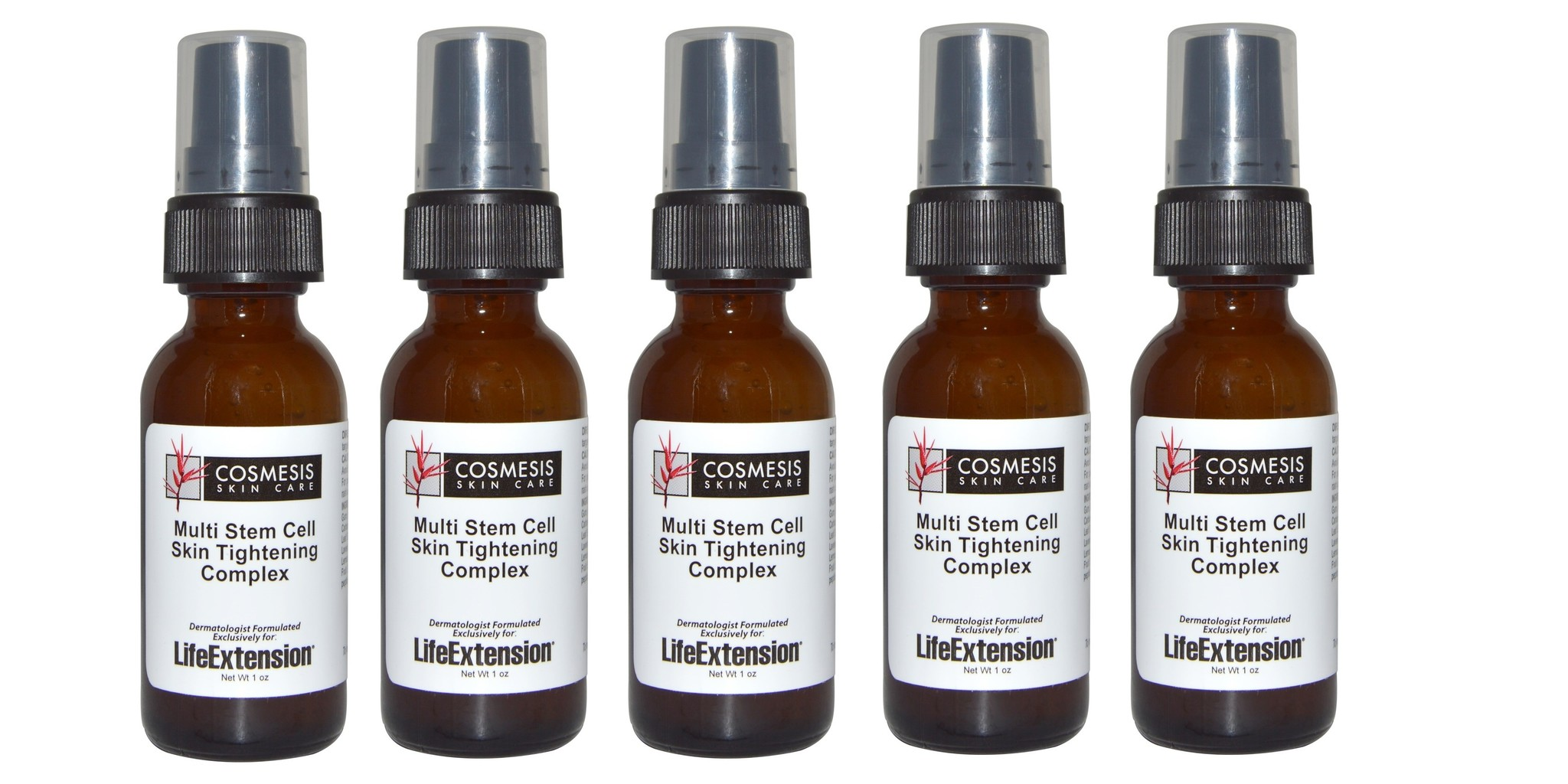 Life Extension Multi Stem Cell Skin Tightening Complex, 1 oz., 5-pack