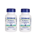 Life Extension N-Acetyl-L-Cysteine, 600 mg, 2-pack