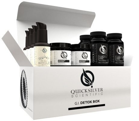 Quicksilver Scientific G.I. Detox Box, 2-pack