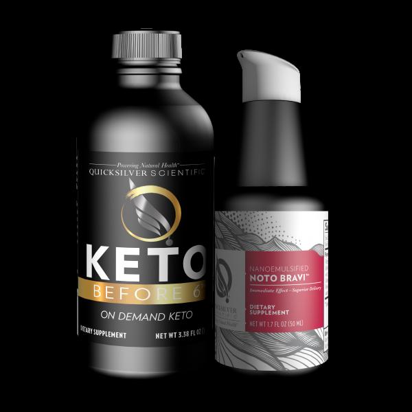 Quicksilver Scientific Keto Before 6™ Focus Kit