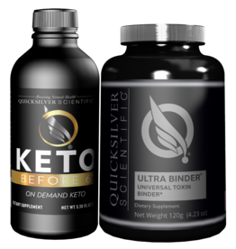 Quicksilver Scientific Keto Before 6™ Detox Kit