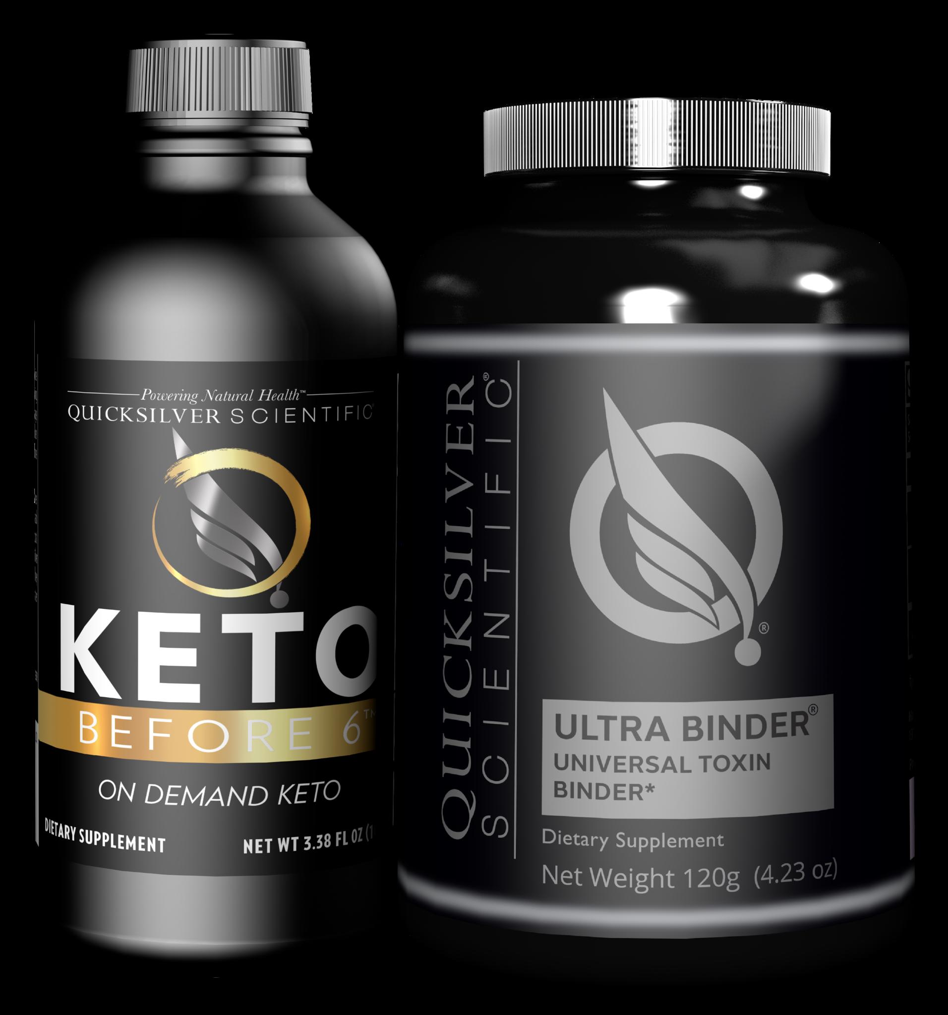 Quicksilver Scientific Keto Before 6™ Detox Kit