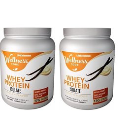 Life Extension Wellness Code™ Whey Protein Isolate, Vanilla Flavor, 403 Grams, 2-packs