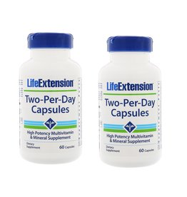 Life Extension Two-per-day Capsules, 60 Capsules, 2-packs