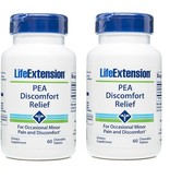 Life Extension PEA Discomfort Relief, 60 Chewable Tablets, 2-packs