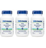 Life Extension PEA Discomfort Relief, 60 Chewable Tablets, 3-packs