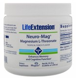 Life Extension Neuro-mag Magnesium L-threonate, Tropical Flavor Drink Mix, 2-packs