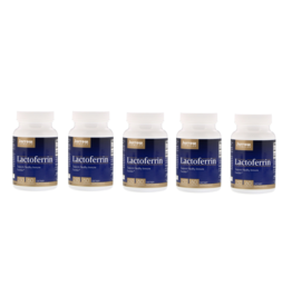 Jarrow Formulas Lactoferrin, 250 Mg, 60 Capsules, 5-packs