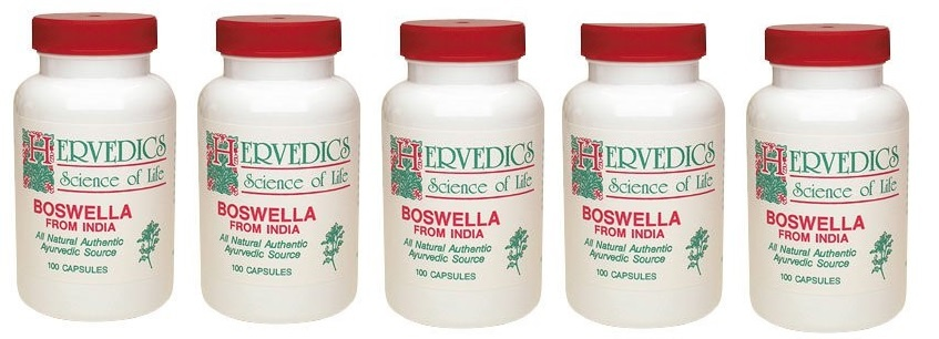 Life Extension Boswella, 100 Capsules, 5-packs