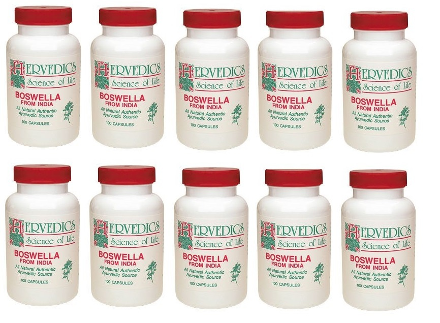 Life Extension Boswella, 100 Capsules, 10-packs