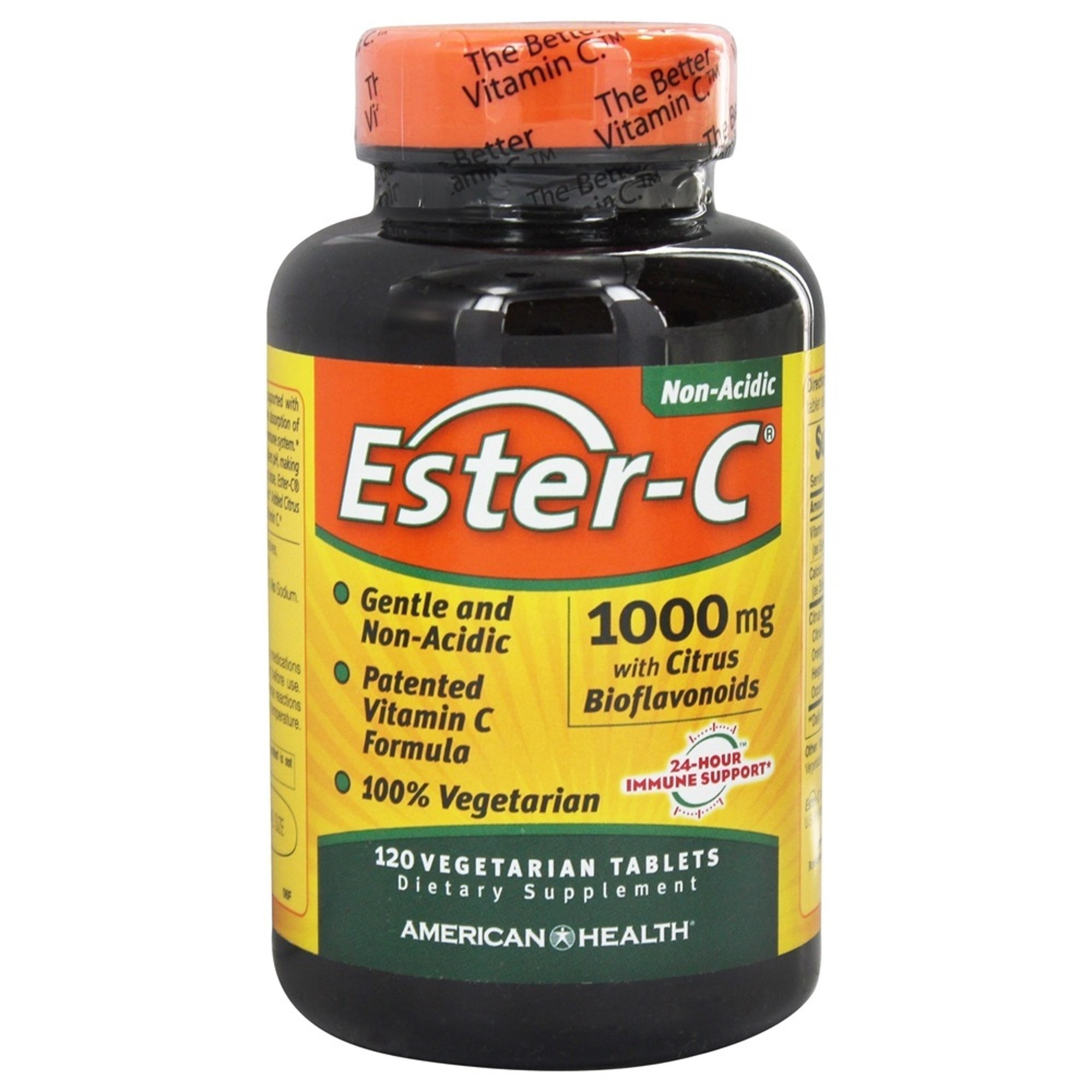Dental Supps Ester-C with Citrus Bioflavonoids 1000 mg, 120 Tablets