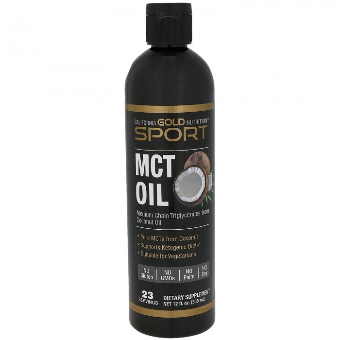 Dental Supps Mct Oil, From Coconut Oil, Keto Support, 12 Fl Oz.