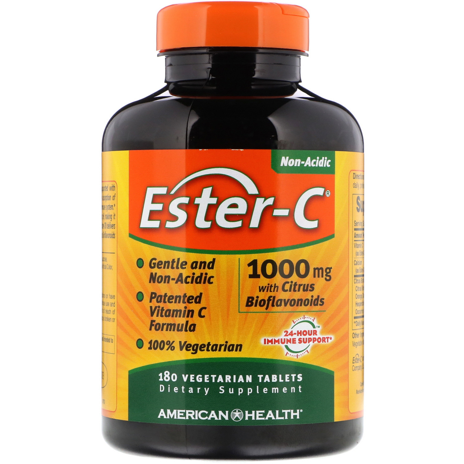 American Health Ester-c With Citrus Bioflavonoids 1000 Mg, 180 Tablets, 5-packs