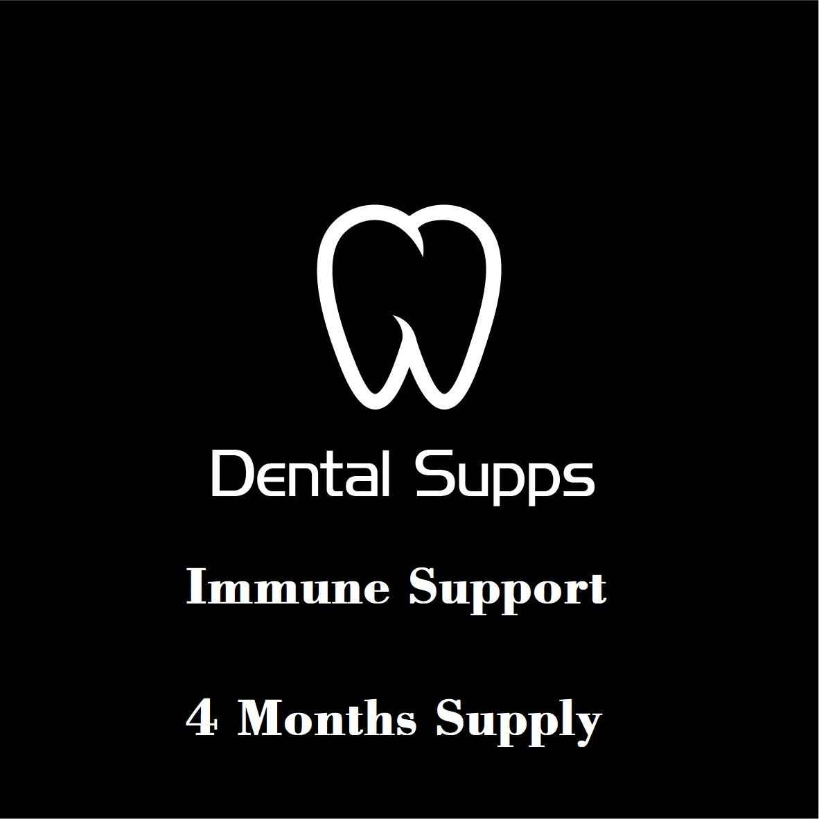 Dental Supps Immune Support Kit: 4 Months Supply - 8-pack NK Cell Activator, 30 Vegetarian Capsules + 4-pack Reishi Extract Mushroom Complex, 60 Vegetarian Capsules