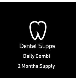 Dental Supps Daily Combi, 2 Months Supply : 1-pack Two-Per-Day, 120 tabs; Once-Daily Health Booster, 60 caps; Ester-C with Citrus Bioflavonoids 1000 mg, 120 Tablets; Magnesium (Citrate) 160 mg, 100 caps; 2-pack PEAK EPA, 60 caps