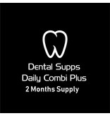 Dental Supps Daily Combi Plus, 2 Months Supply: 1-pack Two-Per-Day, 120 tabs; Once-Daily Health Booster, 60 caps; Ester-C with Citrus Bioflavonoids 1000 mg, 120 Tablets; Magnesium (Citrate) 160 mg, 100 caps; Zinc Caps High Potency, 90 caps, 2-pack PEAK EPA, 60 caps, C