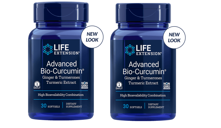 Life Extension Advanced Bio-Curcumin With Ginger & Turmerones, 2-pack