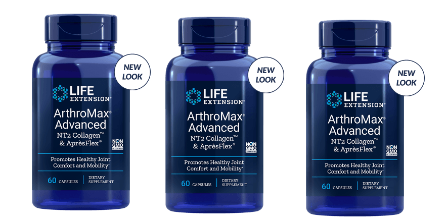 Life Extension Arthromax® Advanced with NT2 Collagen™ & AprèsFlex®, 3-pack