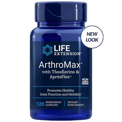 Life Extension ArthroMax® with Theaflavins & AprèsFlex®