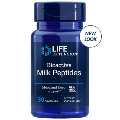 Life Extension Bioactive Milk Peptides, 30 Capsules