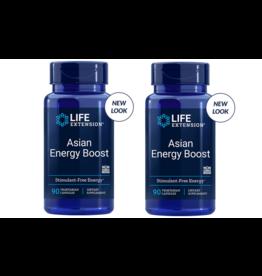 Life Extension Asian Energy Boost, 90 Vegetarian Capsules, 2-pack