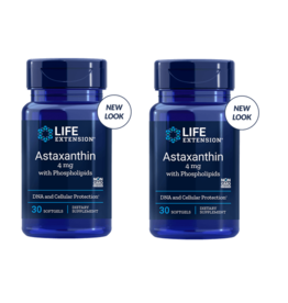 Life Extension Astaxanthin With Phospholipids | 4 Mg, 30 Softgels, 2-pack