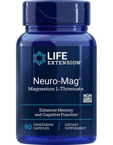 Life Extension Neuro-Mag Magnesium L-Threonate, 90 Vegetarian Capsules
