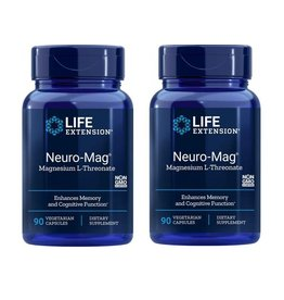 Life Extension Neuro-Mag Magnesium L-Threonate, 2-pack