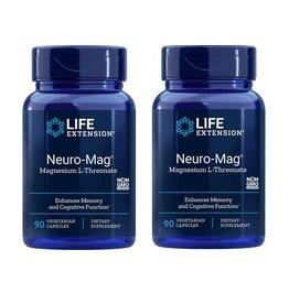 Life Extension Neuro-Mag Magnesium L-Threonate, 2-pack