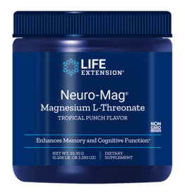 Life Extension Neuro-Mag Magnesium L-Threonate, Tropical Punch Flavor